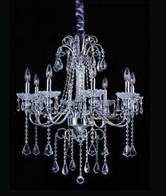 8 Lights lighting base for crystal gift Candelabra Girls Room Chandelier