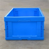 Plastic foldable crates for packaging from China factory