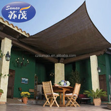 Decorative Sunshine Outdoor Shade Sail Fabric For Garden , Beige Color,made in china,Plastic Net