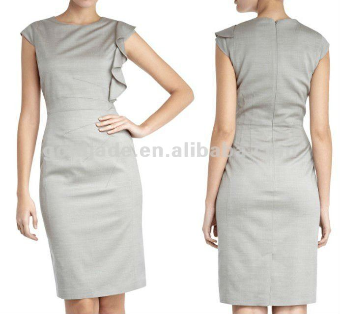 Neweat Lady formal office wear Women'sbusiness wear Lady's Party wear Dress