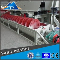 Spiral New Sand Washing Machine Mud Removal Low Cost