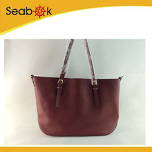 2014 Winter Fashion Band Leather Woman Tote bag
