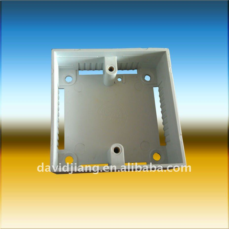 thin plastic electrical boxes/Plastic electrical box AW-1/3*3 plastic box