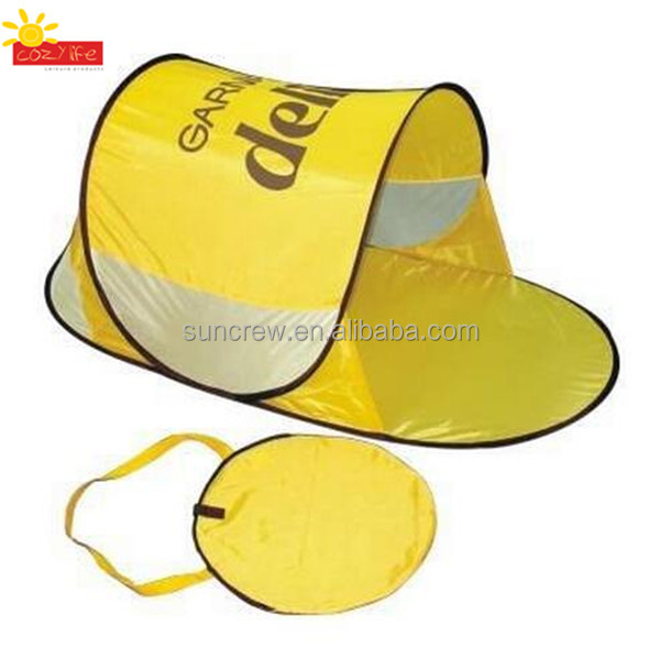 Easy folding portable outdoor beach tent UV protection sunshade aldi pop up beach tent