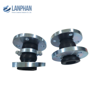 double reinforced stainless steel rubber bellows expansion joint