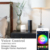 Smart led bulb wifi light bulb Wi-Fi bub E27 music function Magic Home High Standard Alexa Enabled Wi-Fi with Long-distanc 6.5W