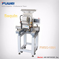 Fuwei one year warranty computerized single head sequin embroidery machine with flat and garments function