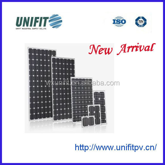 200W high watt solar panels for solar energy system