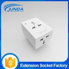 Best selling portable worldwide power plug universal travel adaptor with 2 usb ports safety shutter multi power adapter
