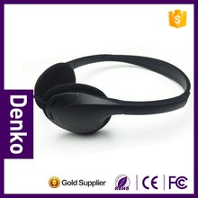 New private mold headband style 32 ohms aviation headset with 40mm speaker