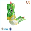 middle spout packaging pouch /stand up liquid, shampoo,laundry detergent,juice packing spout