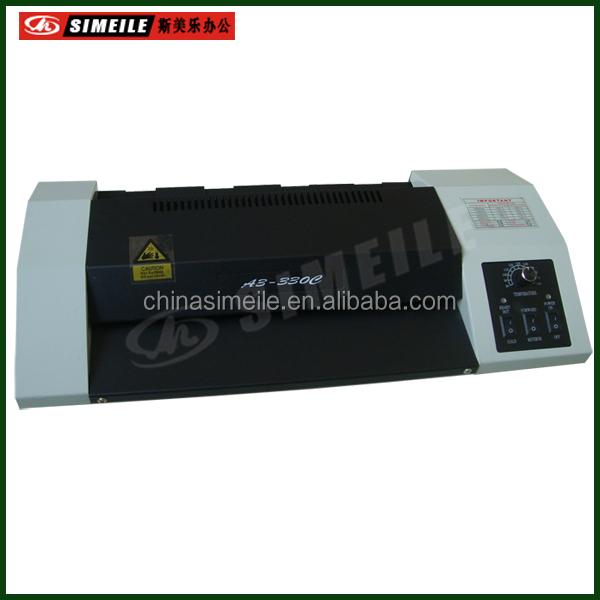 A3-330E mica sheet heating system laminator