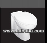 HANDICAPPED ELONGATED BACK TO WALL PAN