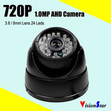 Most popular 720P CMOS Sensor AHD camera security Metal shell dome 1.0mp CCTV