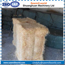 New design wood wool making machine