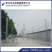 stable quality aluminum temporary truss construction