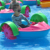 Summer Hot Fun Children Games Park Water Rides Paddle Boat for sale