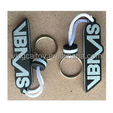eva keychain printed your own logo ideal gifts for your sales promotion