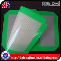 Hot sale high quality China Factory Non stick Custom Fiberglass Silicone Baking Mat