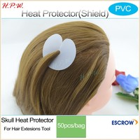 hair heat protector shields Skull protector,fusion shields Keratin bonded tip protection