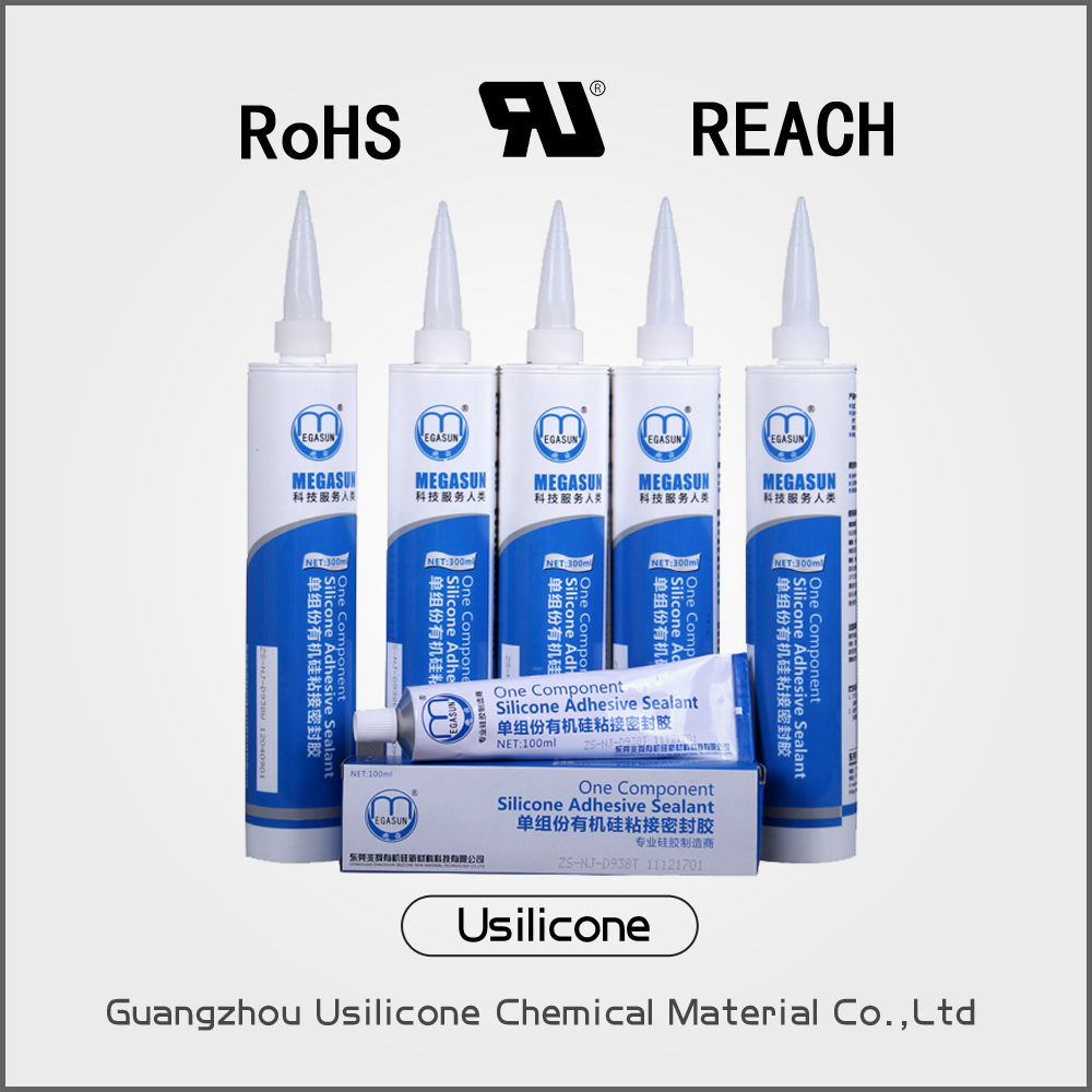 D959W water resistance RTV silicone sealant used for Motor sealant glue