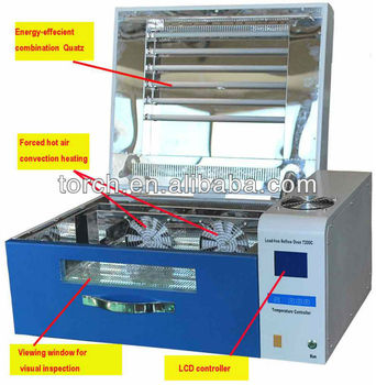 Desk type lead free with high uniformity Reflow Oven T200C/ mini SMT reflow oven