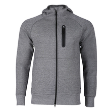 Fashion Design Outdoor Sports Man Jacket Long-Sleeved Zipper Hooded Warm Leisure Jacket