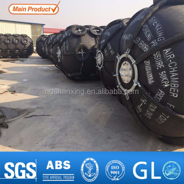 Marien boat rubber fender passed the CCS