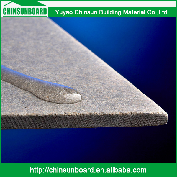 CE certificated Tested Waterproof Finely Processed Use Outdoor Wall Siding Standard Size Facade Cement Board