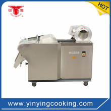 Best quality YinYing YQC-QJ1000 vegetable slicer machine for lettuce or lemongrass or tomato cube cutting
