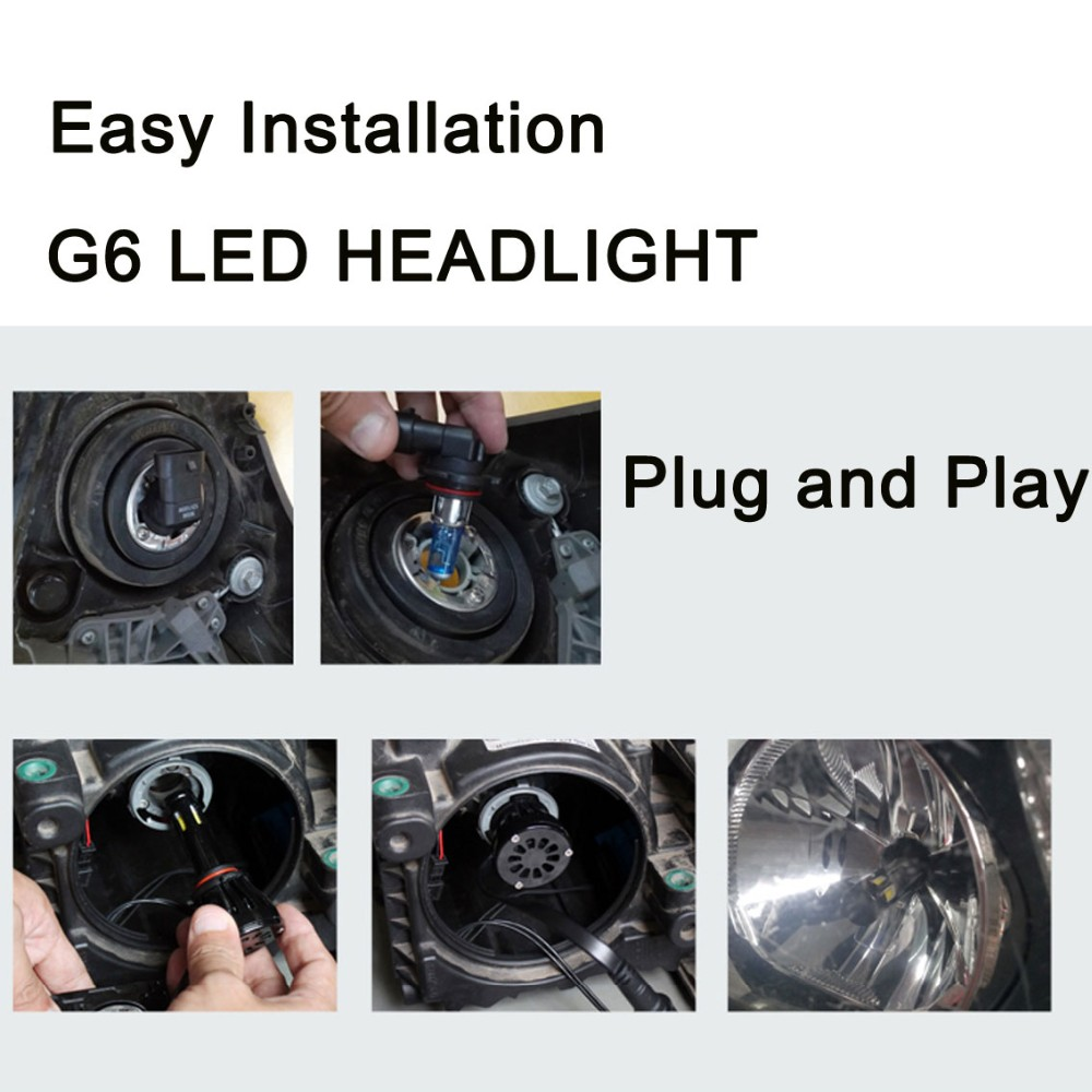 Spare auto parts for halogen headlight replacement 12V 35W 55W g5 g6 g20 6s 5s car headlight manufacturer 9004 9007 h13 h4 h7 d2