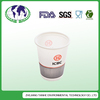 cheap price 80*56*90mm logo printed disposable paper coffee cups corn starch based
