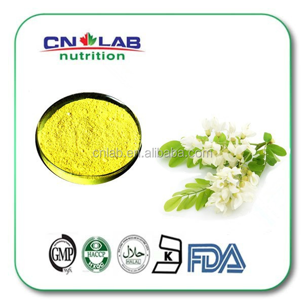 GMP certificate Sophora Japonica Extract Quercetin powder 95% HPLC