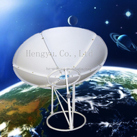 Hot ku band 1.2m satellite tv dish antenna outdoor