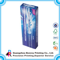 China professional popular custom company's own logo design toothpaste box