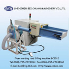 China Polyester Stample Fiber Carding Machine