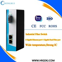 China supplier oem industrial 10/100 base media converter wifi
