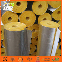 Air Conditioner Pipe Thermal Insulation Aluminum Foil Glass Wool Duct Wrap Pipe Insulation