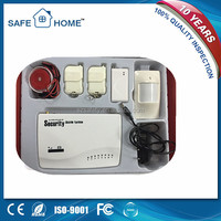 With built-in speaker and manual wireless gsm security alarm system used for home