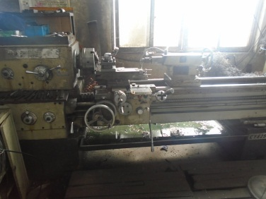 lathe (Injection blow molding machine)