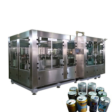 Automatic Aluminum Can Filling Sealing Machine