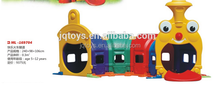 Train Happy worm plastic outdoor tunnel for kids