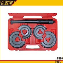 Germany car coil spring compressor set For Shock Absorber 5pc/with 3 point safety interlock