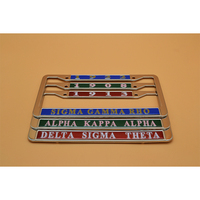 Custom American high quality stainless steel car license plate frame