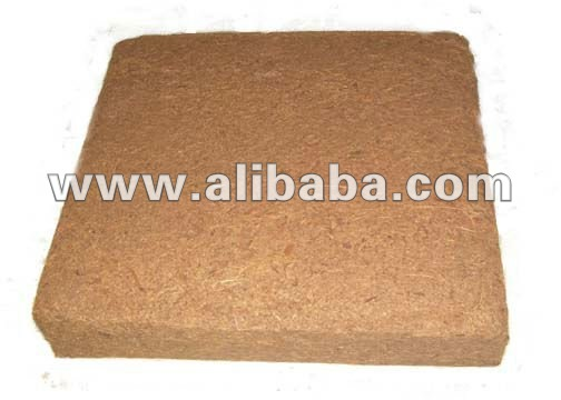 Coconut Coir Fiber Bricks