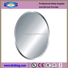 3mm Frameless beveled Mirror for bathroom