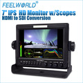 "Feelworld 7"" 1280*800 steadicam cheap monitor with 3G-HD-SDI hdmi inputs"