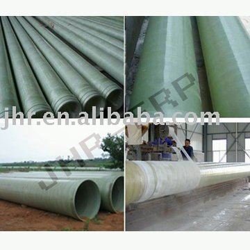 China GRP pipe underground specification price