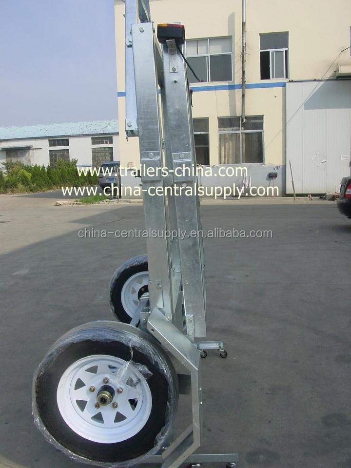 Cage and box Utility Trailer of Galvanised CT0020AB Hign quality