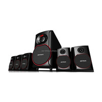 shenzhen Factory High Quality 5.1 tower home theater speaker With USB/SD/LED Display/FM/Remote Control